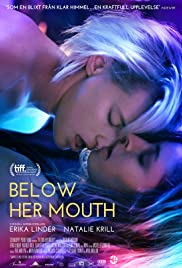 Below her mouth streaming